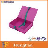 El cosmético del papel del Bowknot de la cinta arropa la caja de embalaje de empaquetado del perfume