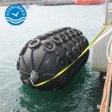 MarinePnuematic Schutzvorrichtungen mit galvanisierter Kette und Gummireifen