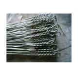 熱浸された電流を通された鉄の結合のループタイワイヤー