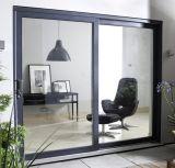 Topbright застекленное Doubel сползающ алюминиевую дверь