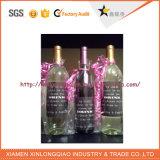 Mot d'impression imprimé personnalisé Bouteille de vin autocollant étiquette auto-adhésif