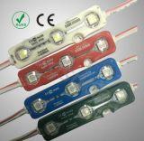 12V 3は5050別のカラーの防水IP65注入LEDのモジュールを欠く