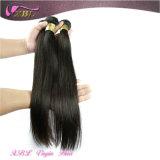 Droite soyeuse 8A année Extension de cheveux bon marché brésilien Hair Weave