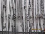 De decoratieve Baluster van de As van het Metaal van de Trede van het Smeedijzer