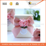 Venda por atacado extravagante de papel maioria feita sob encomenda da caixa dos doces do casamento do presente de China