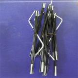 Flexibles faltbares FRP 9.5mm Fiberglas-Zelt Polen für Verkauf