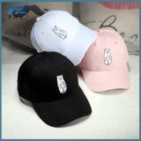 Casquette de baseball/chapeaux ajustés par coutume faite sur commande de chapeau de Snapback de broderie