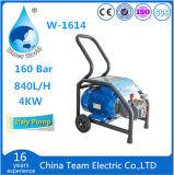 elektrische Hochdruckwasserstrahlmaschine des reinigungsmittel-100bar
