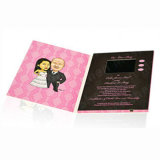 4.3inch LCD Screen Video Wedding Card