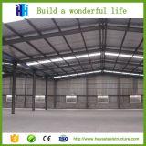 Taller de la fábrica del edificio del almacén de la estructura de acero del palmo grande del bajo costo