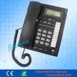 ビジネスホテルの電話のための発信者識別情報の電話電話システムpH206