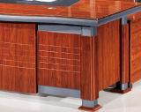 Mesa de escritório executivo de madeira chinesa na mobília de escritório
