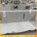Base d'appoggio grigio-chiaro poco costosa della cucina del granito G655