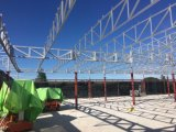 サンドイッチパネルの電流を通された鉄骨構造の建物は倉庫2018051を製造する