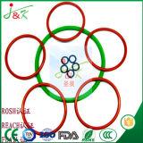 Силиконового каучука, FKM резиновые, черный, зеленый уплотнительные кольца на герметичность