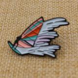 Abitudine il vostri propri Pin morbido del risvolto dello smalto del metallo di disegno