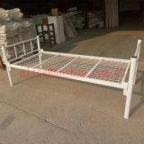 Дешевая кровать верхнего качества одиночной кровати металла цены стальная одиночная для одной персоны