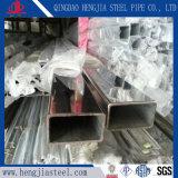 Industrieel Roestvrij staal 304 Gelaste Rechthoekige Buis