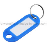 ID Tag en plastique, le nom Hang Tag. Balise clé en plastique