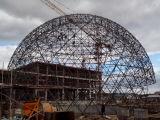 Marco del espacio del centro del arte del teatro de película de la película/estructura de acero