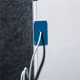 TUV GS 백색 벽 먼 적외선 탄소 수정같은 난방 위원회