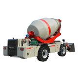 1.2m3と移動式具体的なミキサーをロードしている工場価格の自己- 4.0m3混合タンク