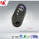 Plástico RF de controle remoto