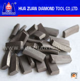 Toit Type Square Hole Drill Bit Segment pour Concrete Cutting