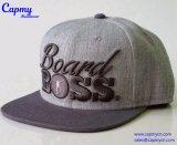 Surtidor de acrílico gris del sombrero del casquillo del Snapback