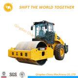 8 Tonnen-doppeltes Trommel-Straßen-Rollen-Vibrationsschmutz-Verdichtungsgerät