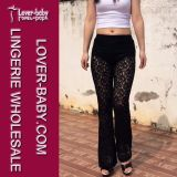 Fashion Lace Legging (L97045)女性の