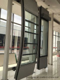 Bon mur T5 rideau en aluminium anodisé par T6 de la qualité 6063
