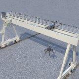 Port Continer de grue de portique de 15 tonnes déchargeant des grues