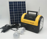 Smalll Portable mit Solar-LED hellem System der Radiofunktions-