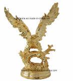 Águilas de plata Home estatuas Proresin adornos artesanías para promoción