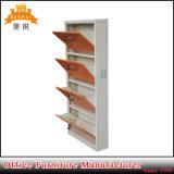 Шкаф хранения ботинка 4 слоев/шкаф ботинка металла установленные стеной стальные