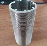 Automatic Coil-Cleaning Wedge Wire Slotted Tubes Candle Filter