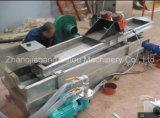 Les éclailles de bouteille de HDPE réutilisent la machine en plastique de rebut de pelletisation