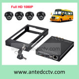 HD Sdi 1080P 4 CH Mobile Bus DVR Recorder para sistemas de vigilância do auto escolar