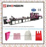 Non-Woven мешок делая машину для коробки кладет Zxl-C700 в мешки