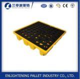 pallet di plastica di caduta di contenimento di 1300X660mm IBC per il petrolio dell'olio