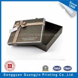 Caja de cartón de empaquetado del rectángulo del regalo de papel colorido