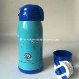 Dubbele het Drinken van het Water van het Roestvrij staal van de Jonge geitjes van de Douane van de Muur Fles
