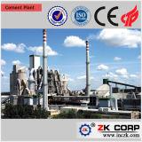 Completare il piccolo dell'impianto di produzione del cemento