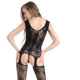 Оптовая высокая упругость плюс Fishnet Bodystocking BS8909 женское бельё размера сексуальный