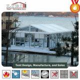 Сделайте шатер водостотьким шатёр Tempered стекла 20 x 50 с бортовыми тенями