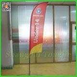 Bandierina di spiaggia gigante della piuma di stampa di Tongjie per la promozione (TJ-BF0034)