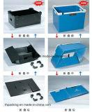 Boîte pliante avec impression / PP Boîte creuse pour rangement et emballage et coffret en plastique