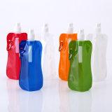 BPA portatili liberano la bottiglia pieghevole del sacchetto di acqua per la corsa di campeggio