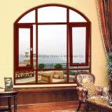 Heißer Verkäufer-Aluminiumneigung und Drehung Windows mit wahlweise freigestellten eingebauten Vorhängen (FT-W80)